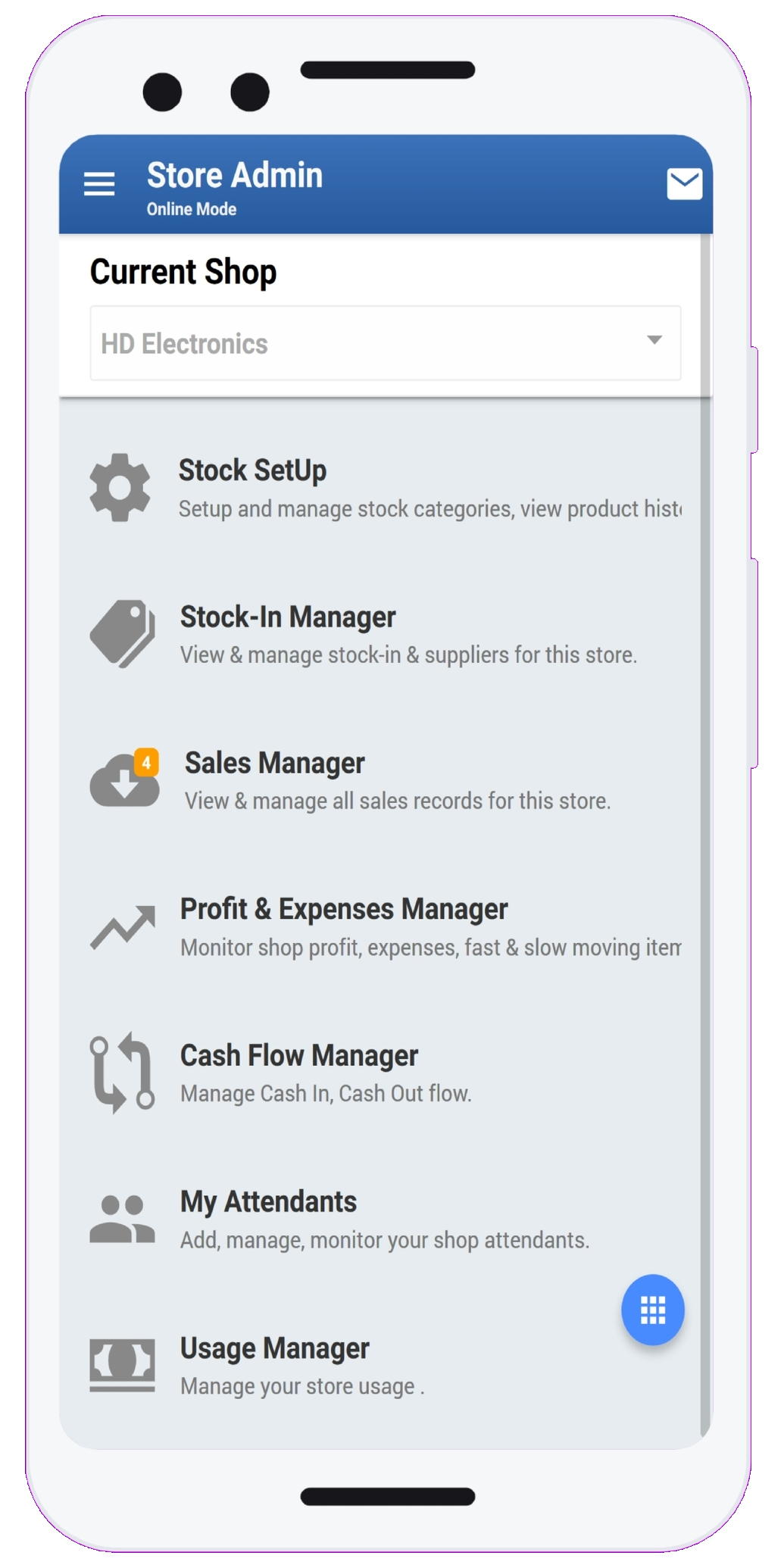 StockApp Features | Home Page